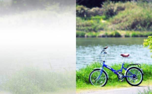 自転車店の名刺作成