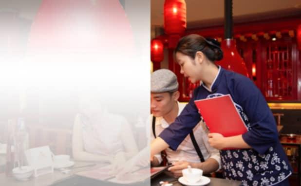 岡山県版 | 中華料理店の名刺作成